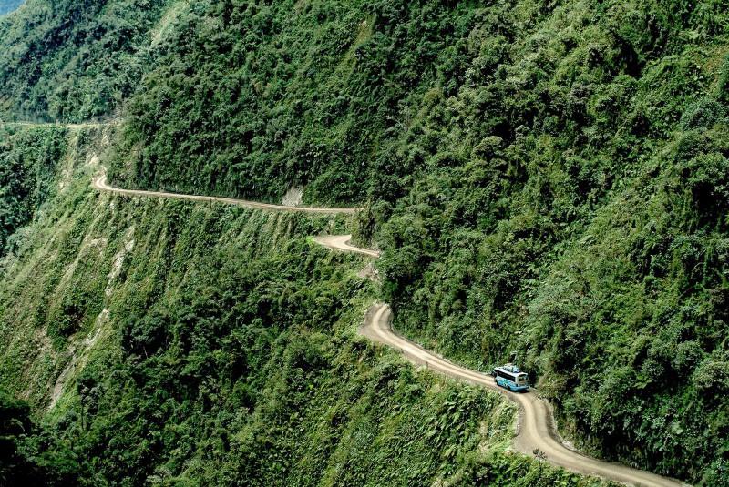 Bolivie, route extrême