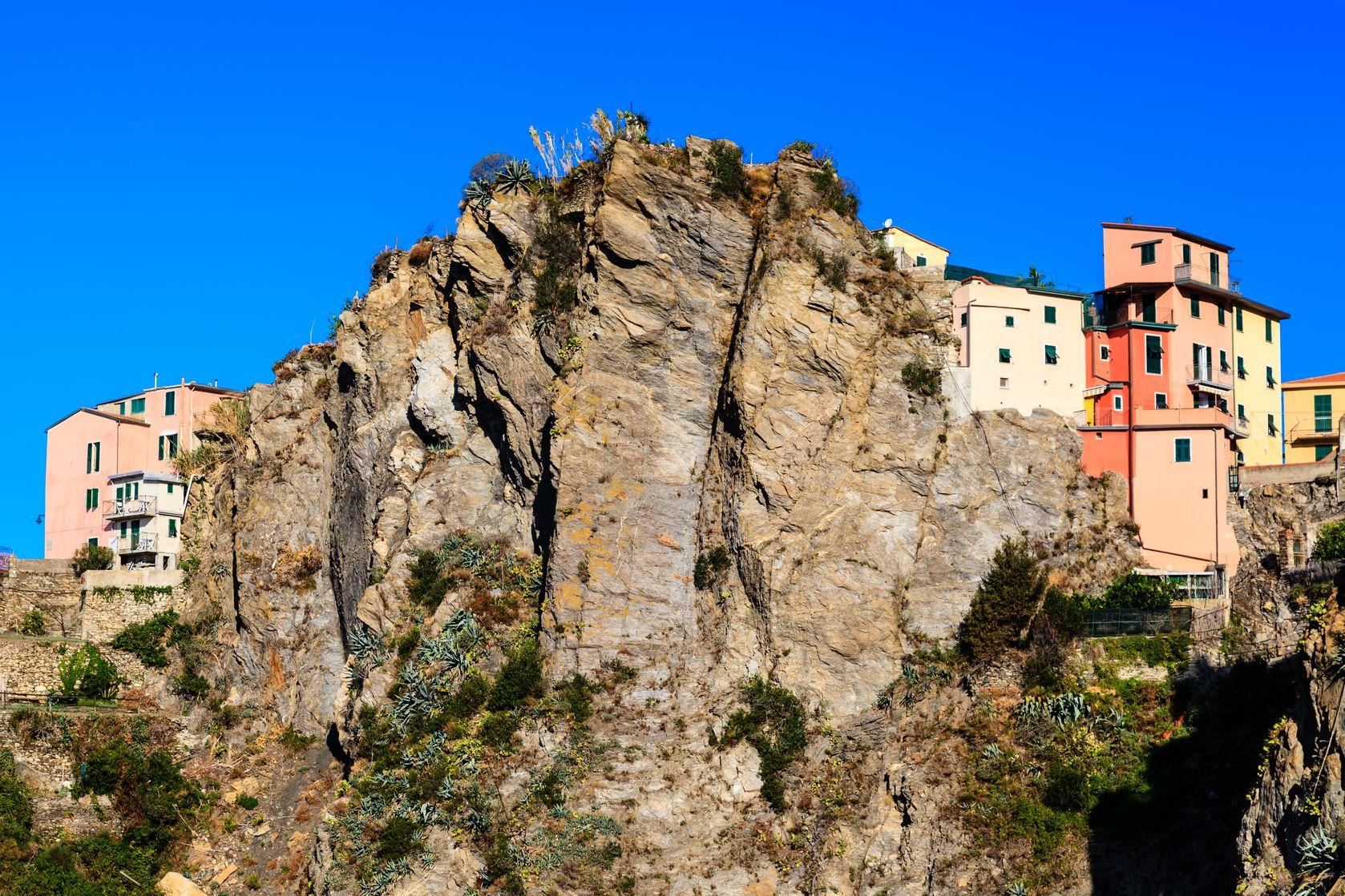 Corniglia, falaise