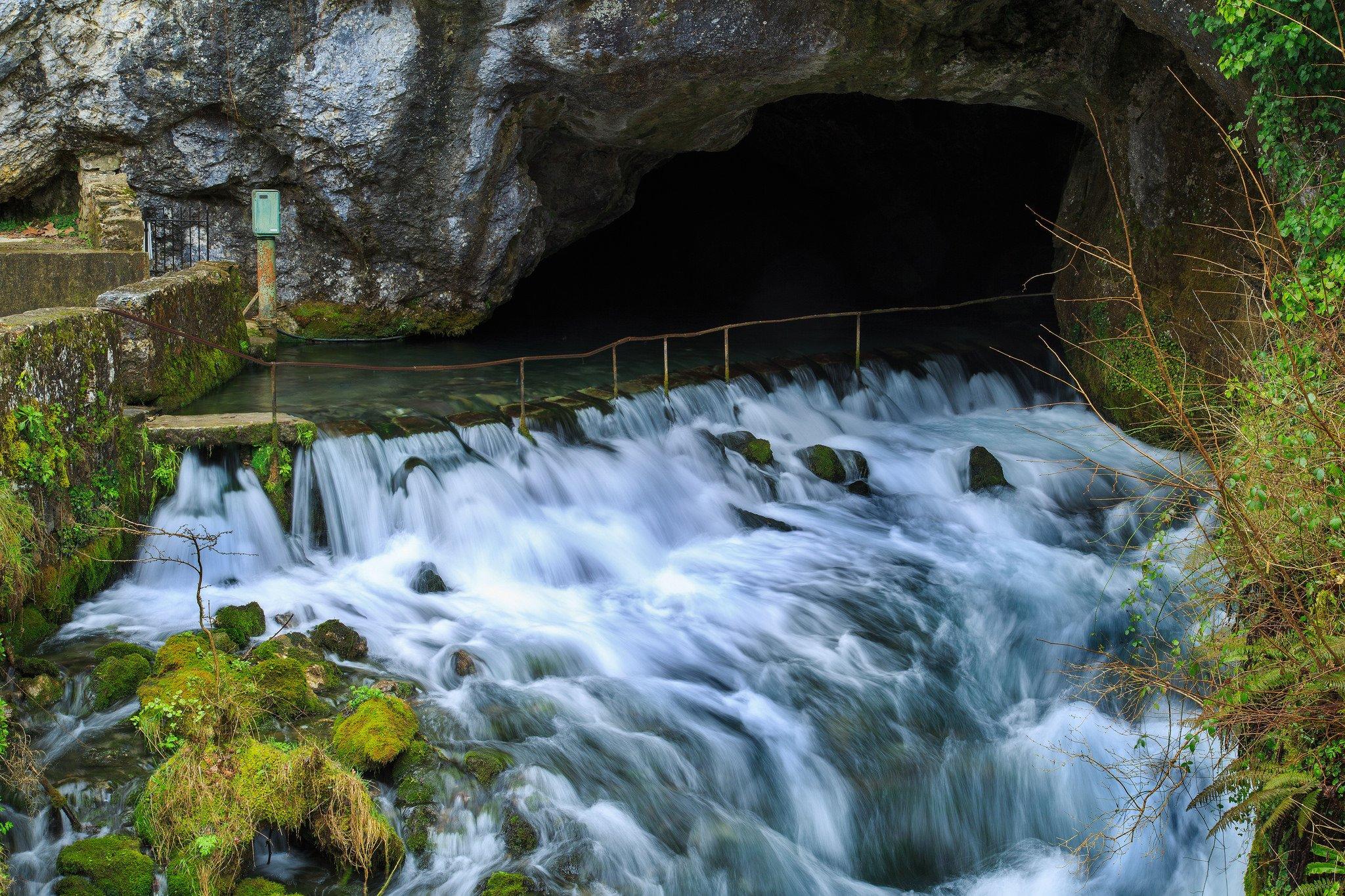 La fontaine intermittente de Fontestorbes