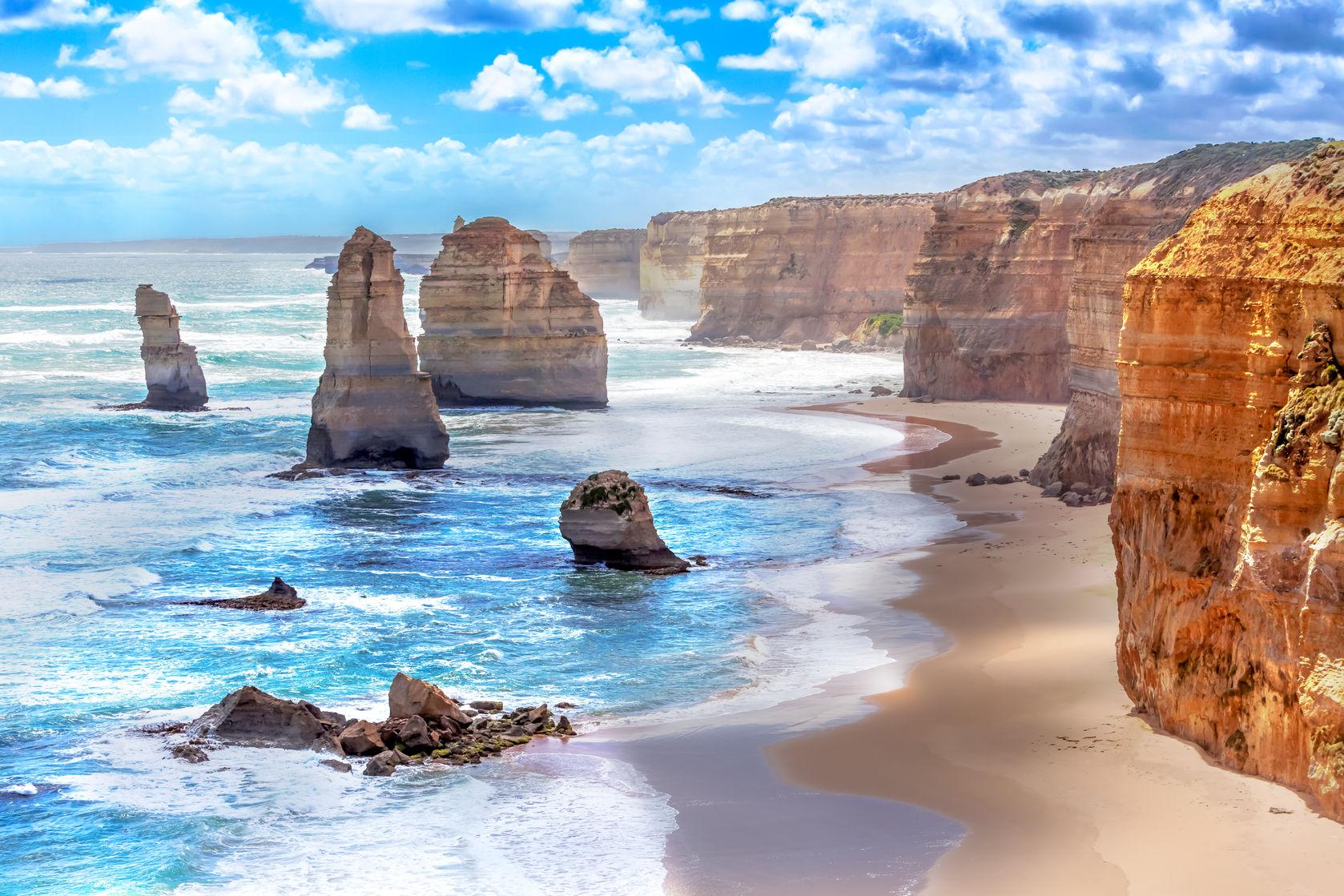 Great ocean road, Australie