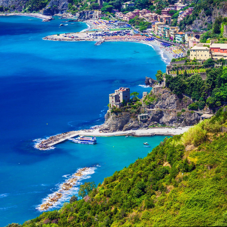 Monterosso al Mare, vue d'ensemble