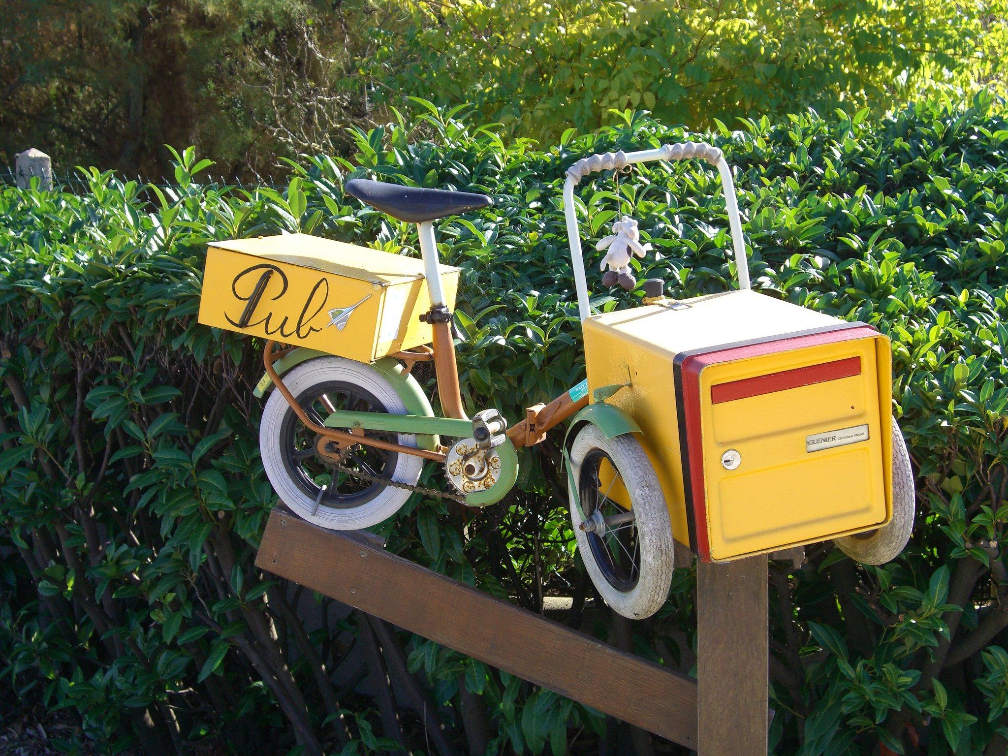Vélo à lettres