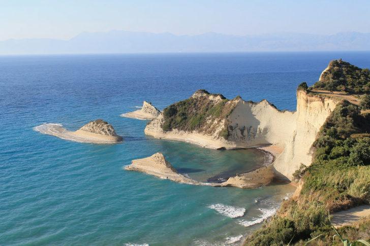 Le Cap Drastis à Corfou