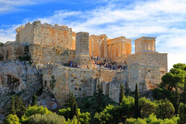 Acropole d'Athènes, l'un des sites les plus connus de Grèce