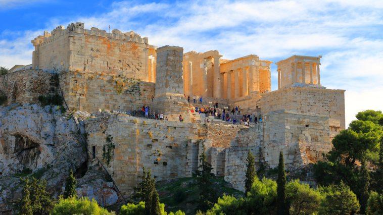 Acropole d'Athènes en Grèce