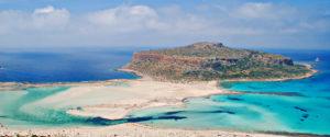 La plage de Balos en Grèce