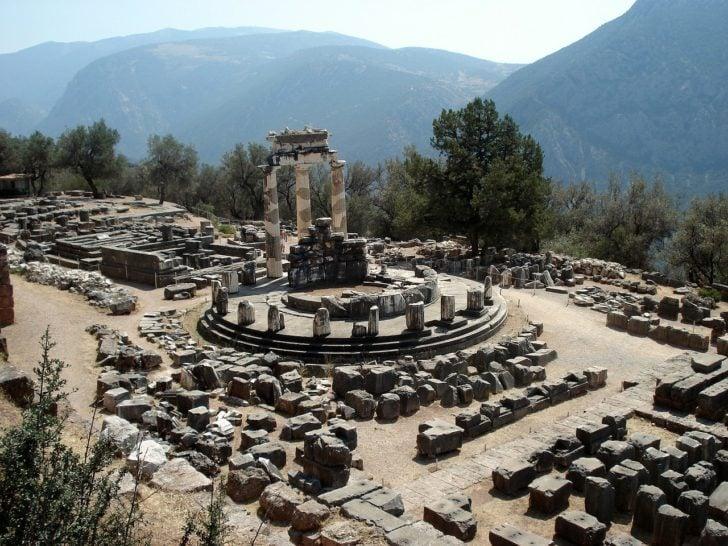 Le site de Delphes en Grèce