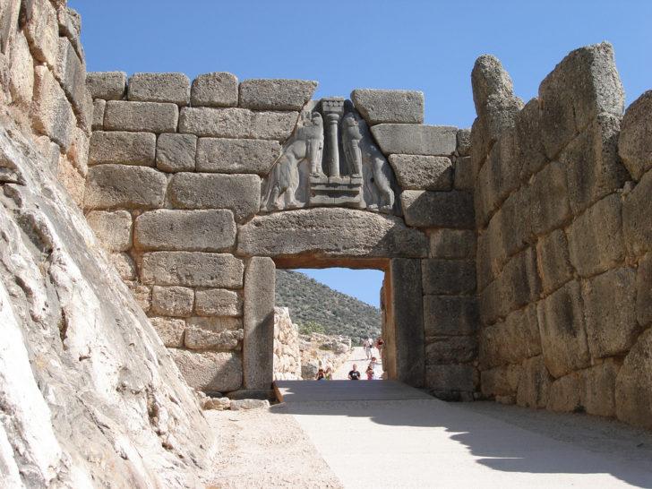 Le site de Mycènes en Grèce