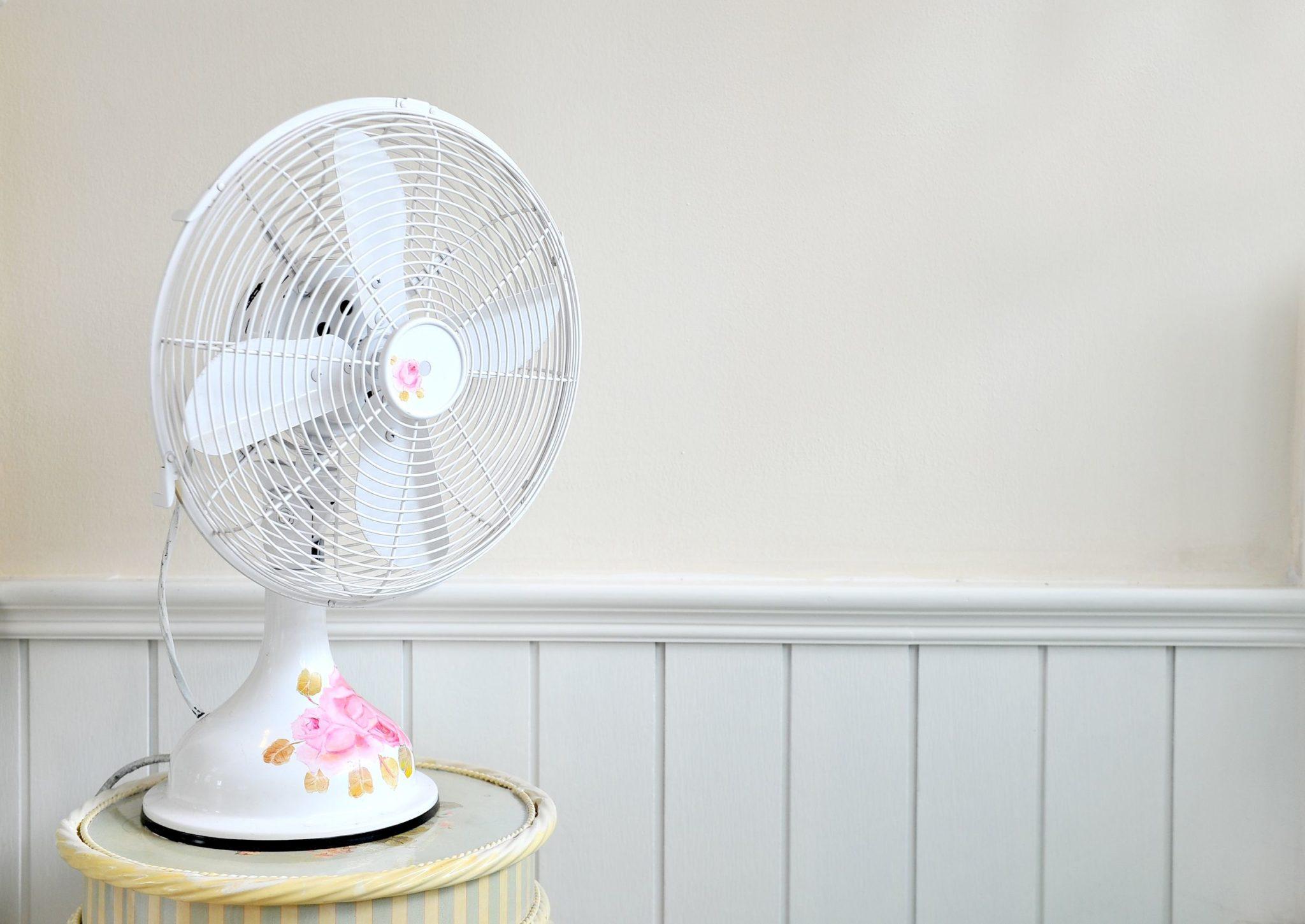 Le ventilateur ne produit pas de l'air frais