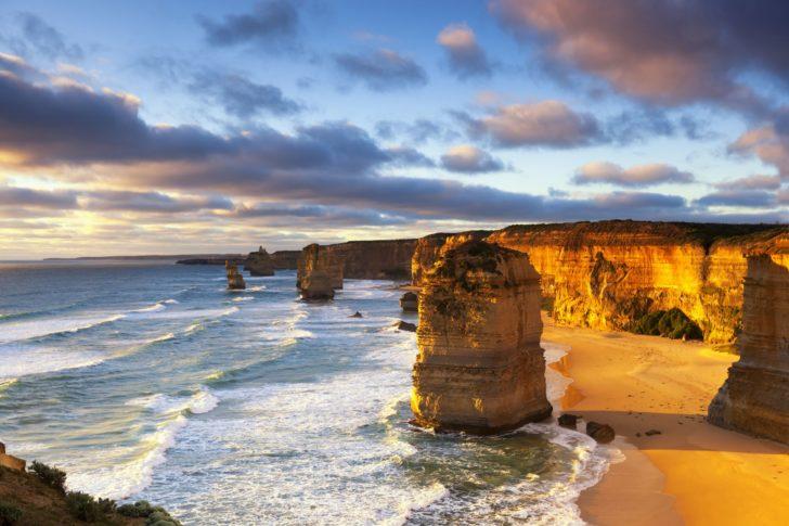 Les douze apôtres en Australie