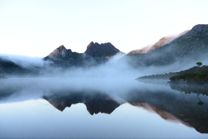 Le Lac Dove en Australie