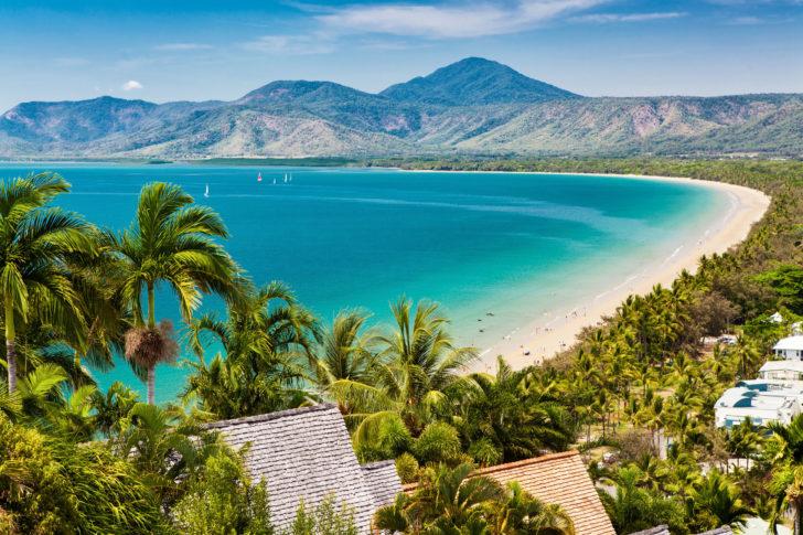 La plage de Port Douglas en Australie