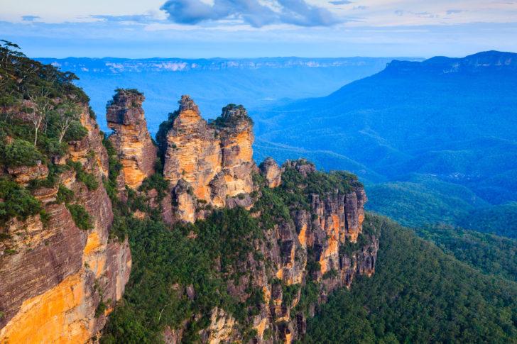 Les Trois soeurs en Australie