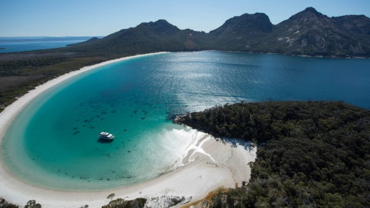 Wineglass Bay en Australie