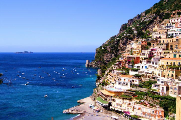 Positano sur la Côte amalfitaine en Italie