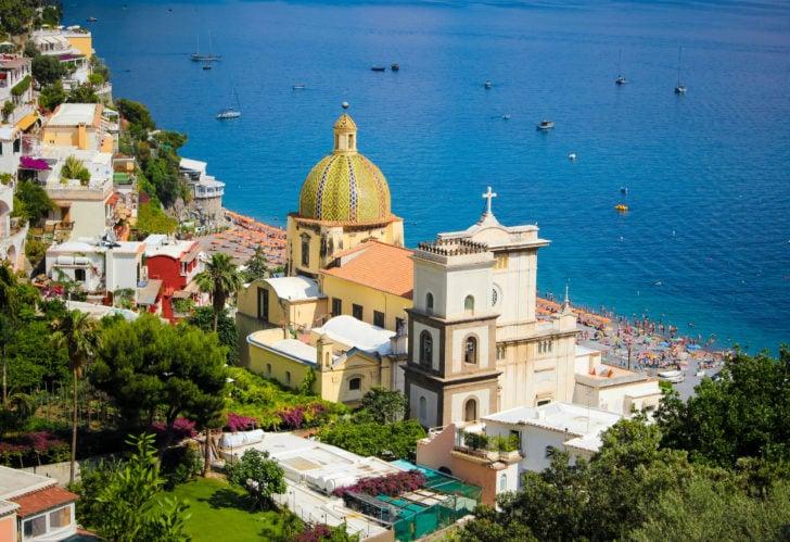 Santa Maria Assunta à Positano en Italie