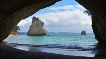 Cathedral Cove en Nouvelle-Zélande