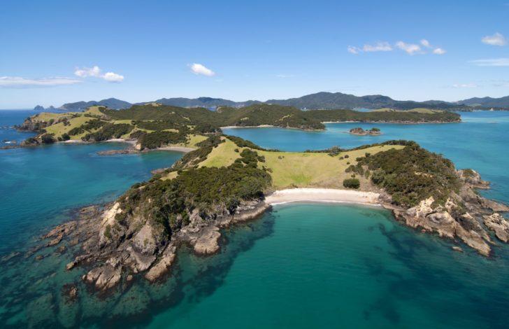 Ile Urupukapuka en Nouvelle-Zélande