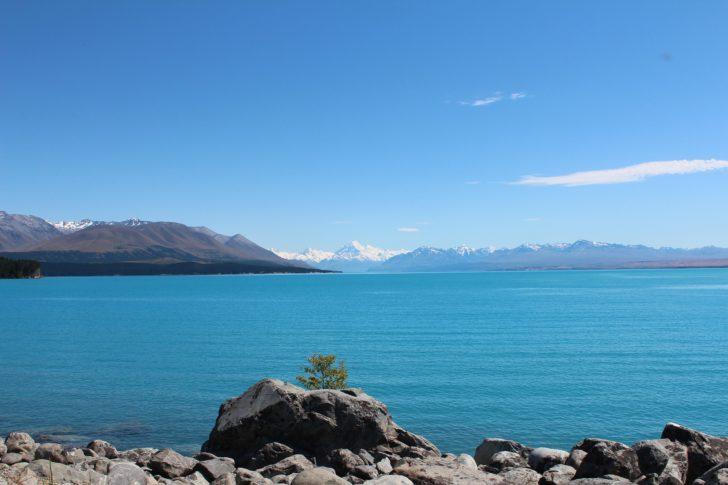 Le Lac Pukaki en Nouvelle-Zélande