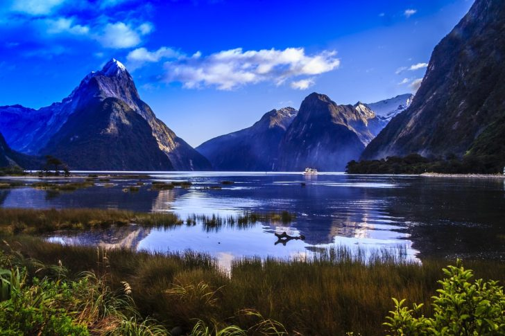 Le fjord Milford Sound en Nouvelle-Zélande