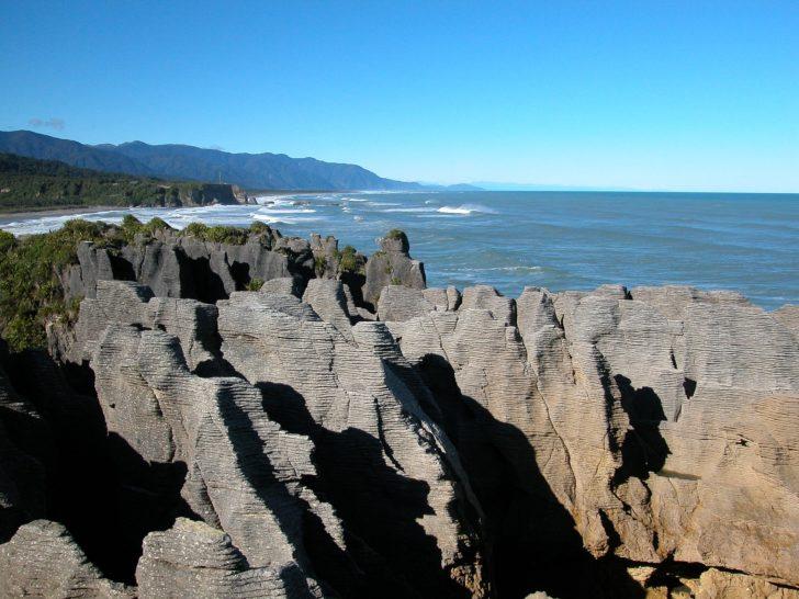 Pancakes Rocks en Nouvelle-Zélande