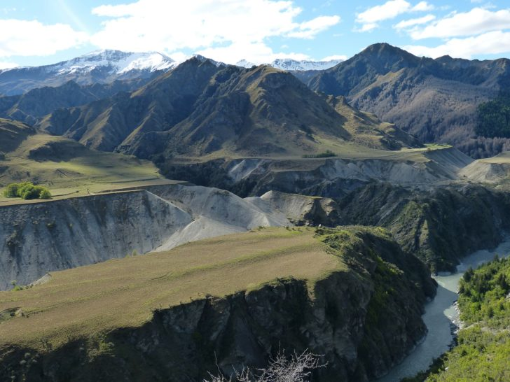 Skippers Canyon en Nouvelle-Zélande