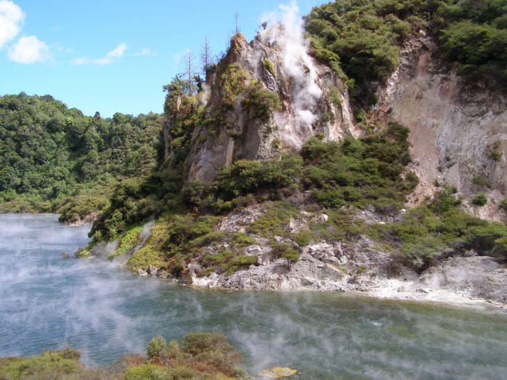Waimangu en Nouvelle-Zélande