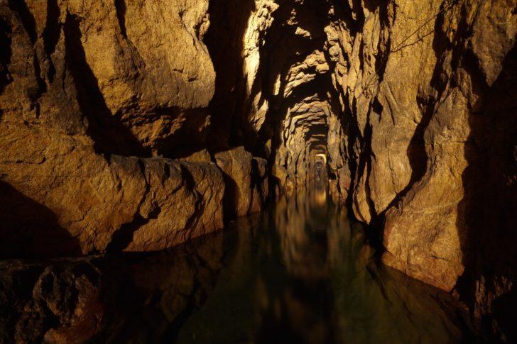 Route touristique souterraine dans le Black Trout