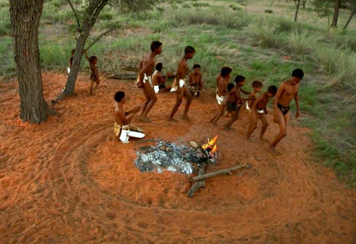 Danse autours du feu. Paysage culturel des ǂKhomani