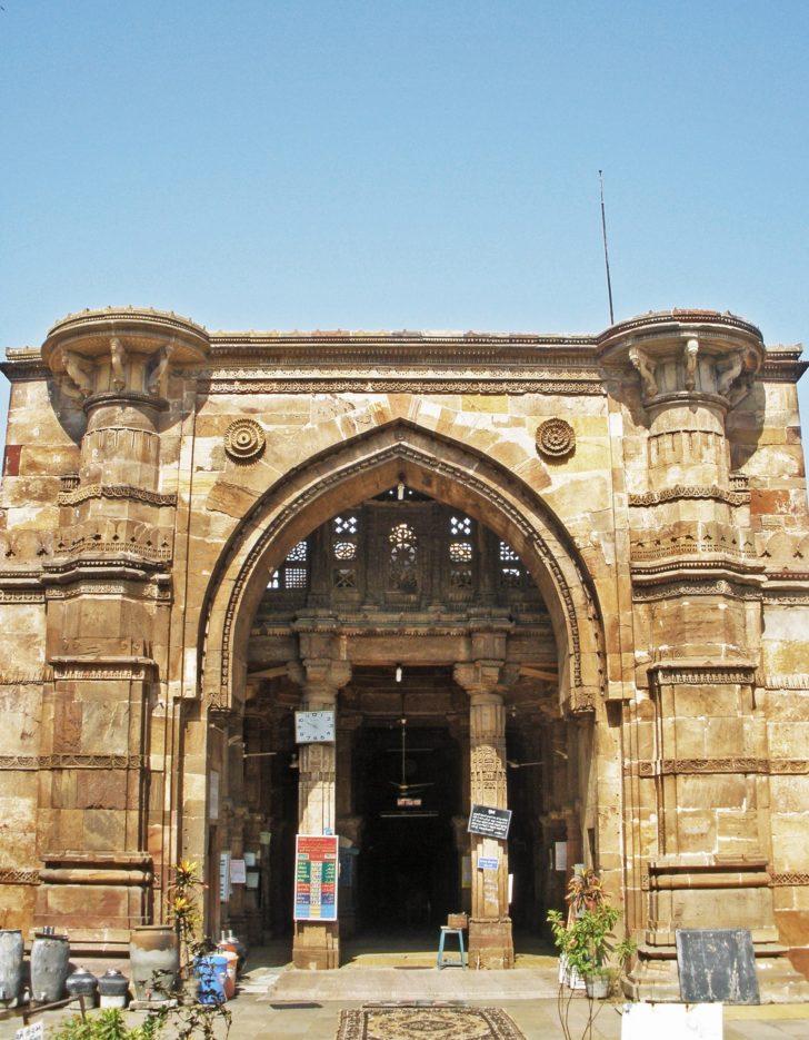 Ville historique d'Ahmedabad - Mosquée de Ahmed Shah