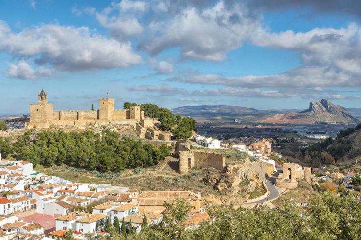 L'Alcazaba en Andalousie