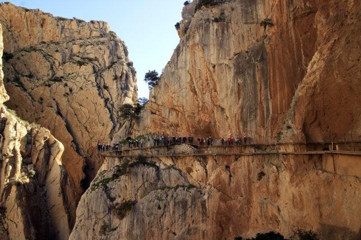 El Caminito del Rey en Andalousie