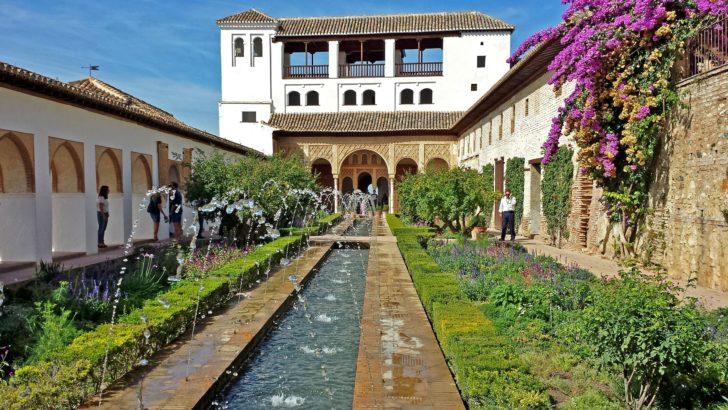 Generalife en Andalousie