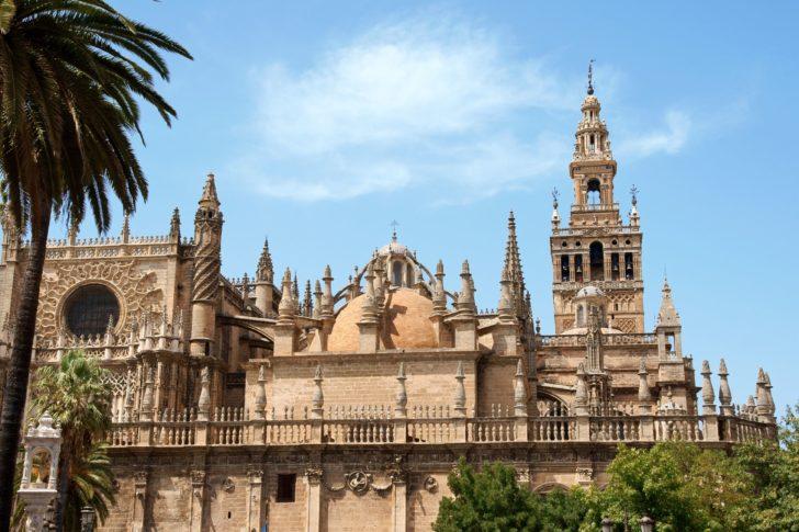 Giralda à Séville en Andalousie