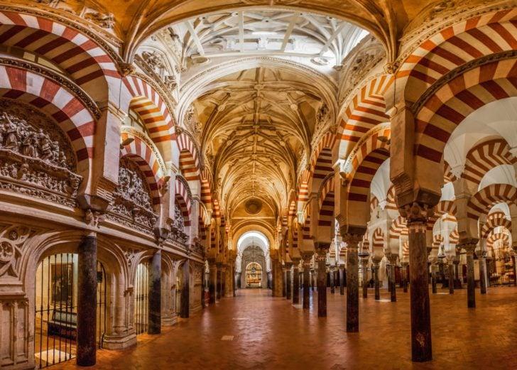 La mosquée de Cordoue en Andalousie