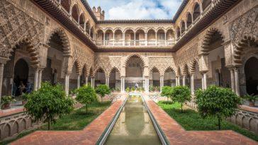 L'Alcazar à Séville en Andalousie