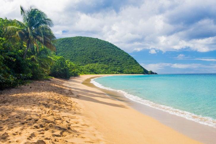 La plage de Grand Anse en Guadeloupe