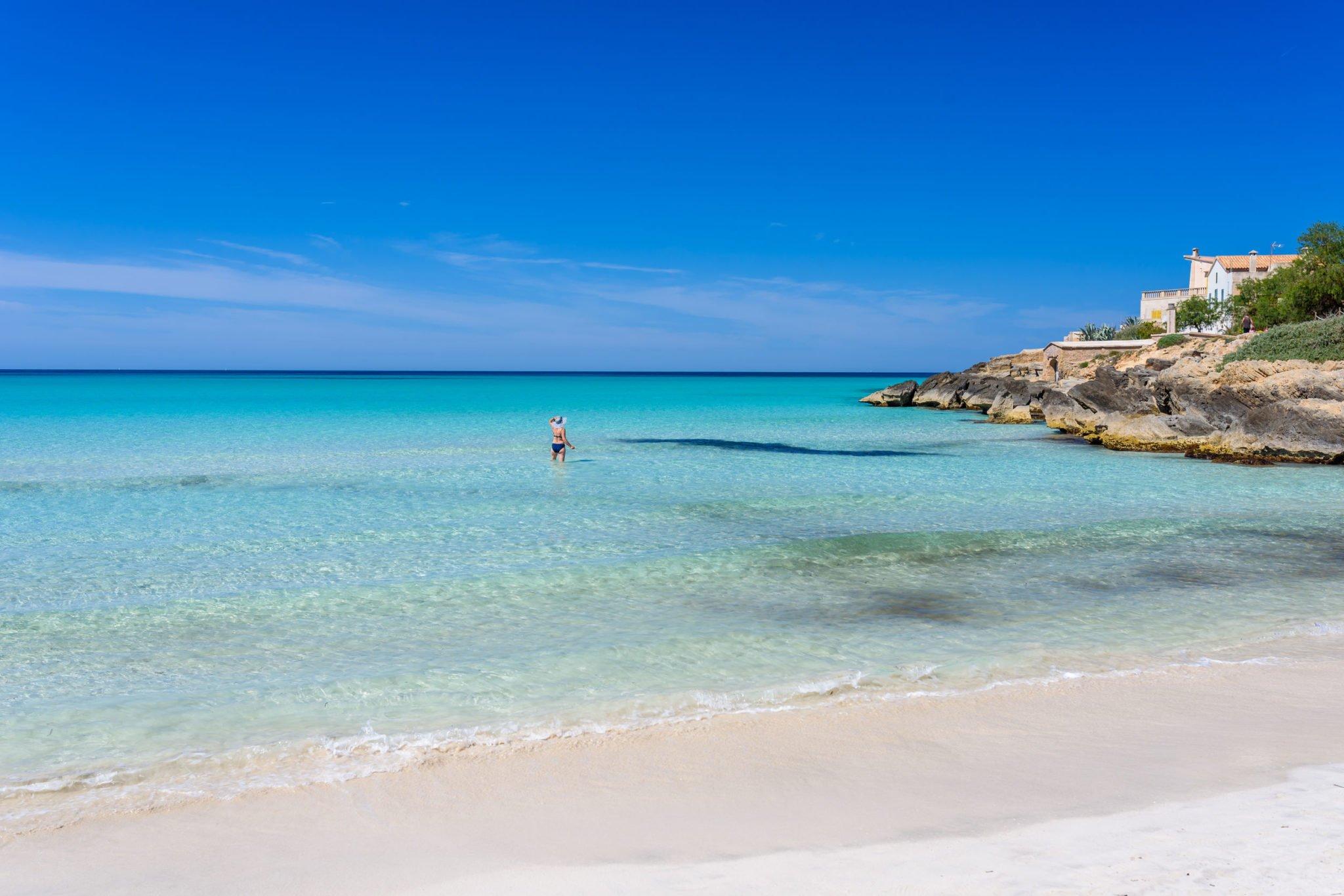 Majorque Photos se rapportant à 10 plus belles plages de rêve où bronzer à majorque - atterrir