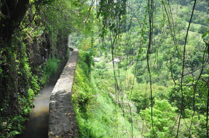 Le canal Beauregard ou le canal des Esclaves en Martinique