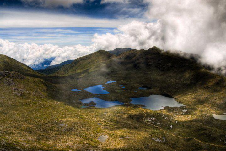 Cerro Chirripo au Costa Rica