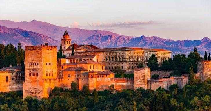 L'Alhambra de Grenade en Andalousie