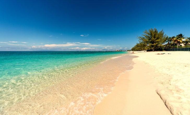 Seven Mile Beach aux Îles Caïmans
