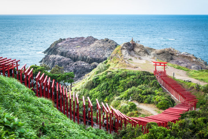 Motonosumi-Inari Shrine au Japon