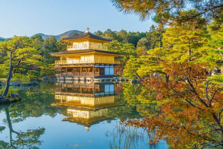 Le Pavillon d'Or au Japon