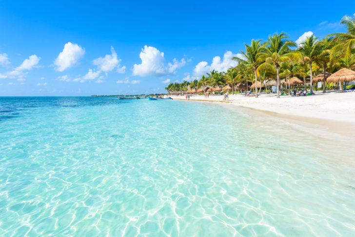 Akumal beach au Mexique