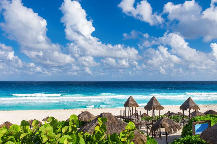 Playa Delfines à Cancun au Mexique