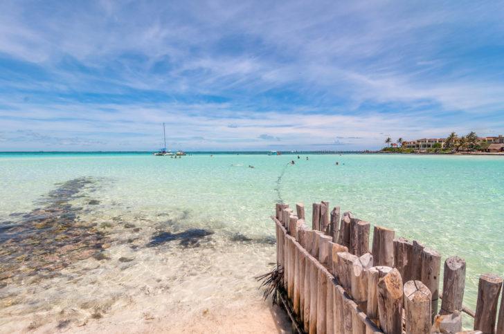 Playa del Norte au Mexique