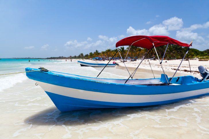 Playa Paraiso au Mexique