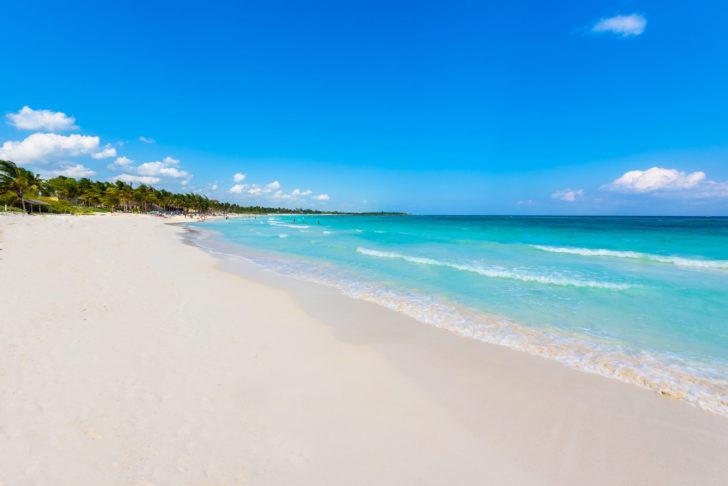 Xpu-Ha Beach au Mexique