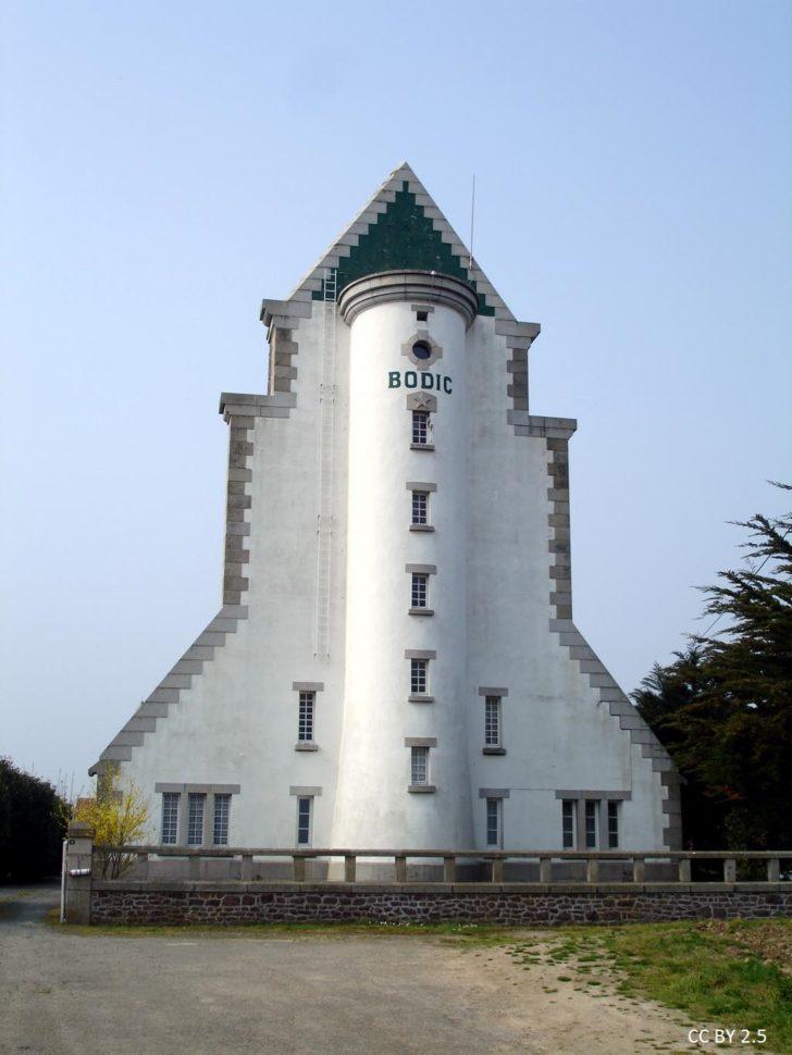 Le phare de Bodic en France